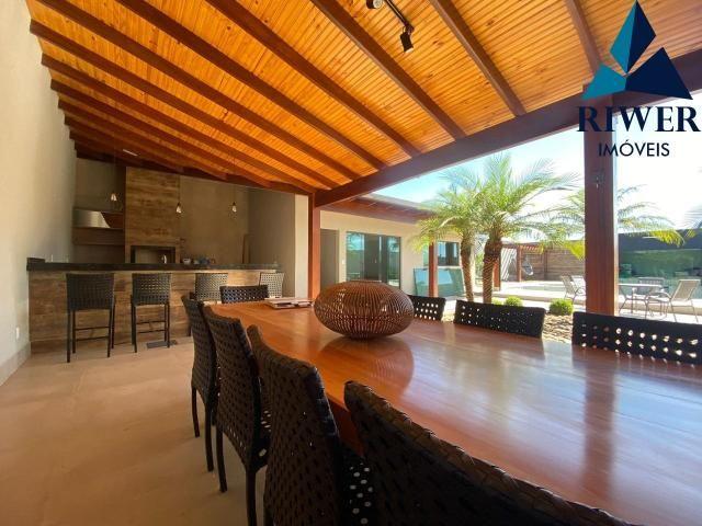 Luxo! Casa perfeita e mobiliada em Vicente Pires! 4 suites, revestimentos e materiais de p - Foto 4
