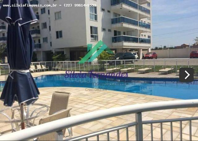 Apartamento para Locação em Rio das Ostras, Recreio, 3 dormitórios, 1 suíte, 2 banheiros,  - Foto 3