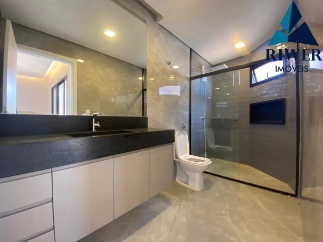 Luxo! Casa perfeita e mobiliada em Vicente Pires! 4 suites, revestimentos e materiais de p - Foto 12