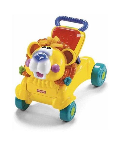 Andador leaozinho fisher-Price