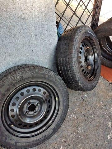 Pneus com rodas aro 16 - Foto 3