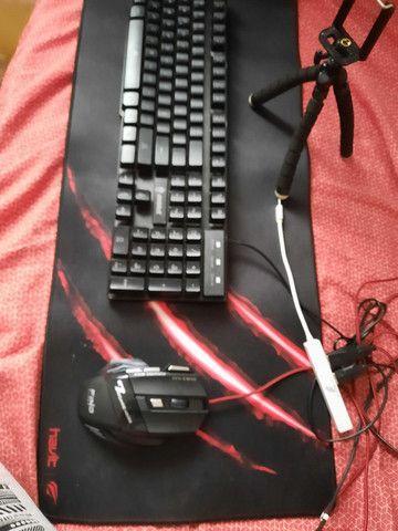 Kit teclado gamer / mobilador - Foto 4
