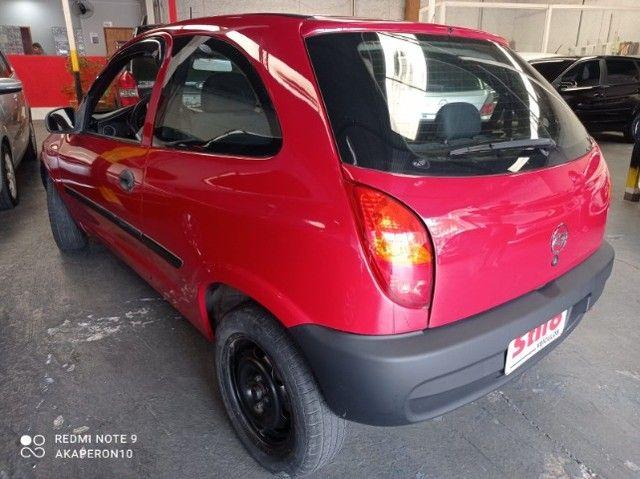 Celta 1.0 Gasolina 2 Portas 2003 /2003 Vermelha Veja !! - Foto 3