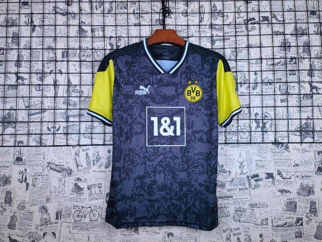 Camisa Dortmund 2021/22 Edição limitada