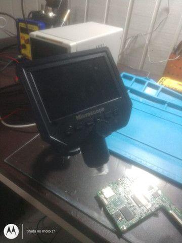 Microscópio digital com monitor LCD Full HD 600 x - Foto 3