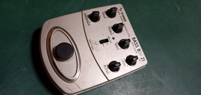 Pedais bass BDI 2 e bass envelope filter - Foto 2