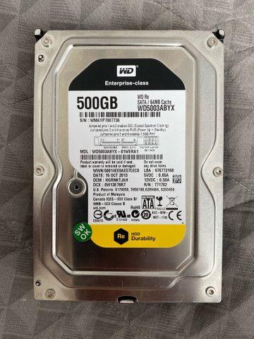 HD SATA - 500GB WD5003ABYX - ALTA PERFORMANCE