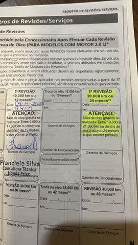 Civic exl 2020  estado de zero com 5 mil km - Foto 11