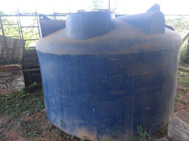 Tanque Fortplus Capaciade 10.000 litros - Usado - Foto 3