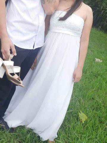 Vestido de noiva tam M - Foto 2