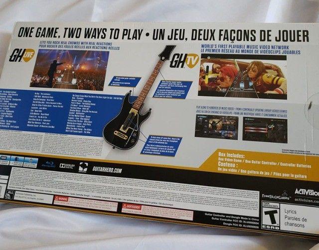 Guitarra Guitar Hero  para PS3 - Foto 2