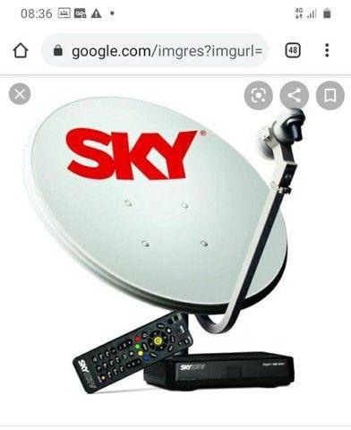 Antena skay e receptor.