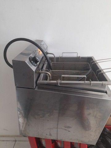 Fritador Elétrico Agua e Oleo - Foto 2