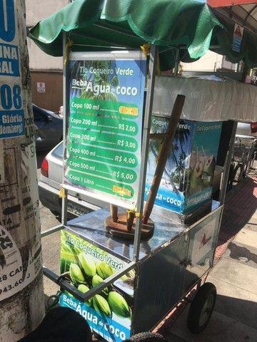 Carrinho água de coco (seminovo)  - Foto 2