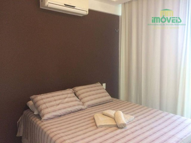 Apartamento com 5 dormitórios para alugar, 126 m² por R$ 4.000,00/mês - Porto das Dunas -  - Foto 2