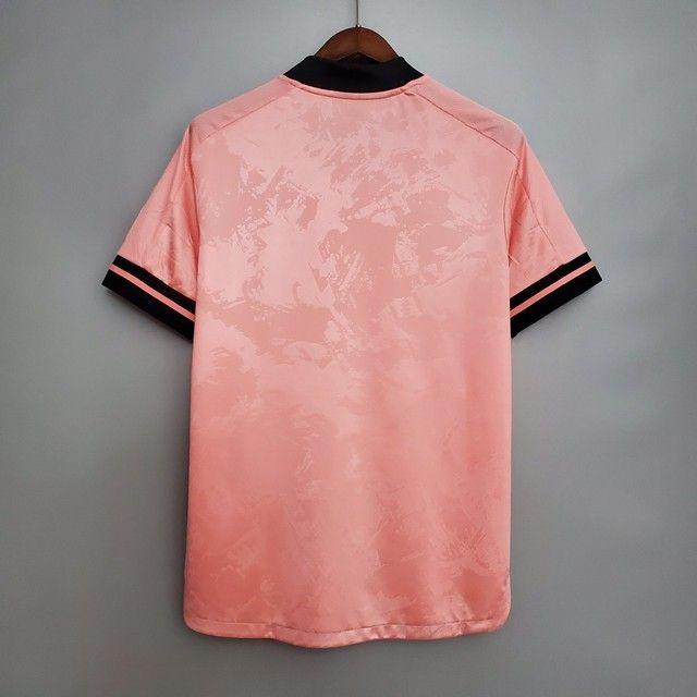 Camisa International Rosa Masculina - Foto 4