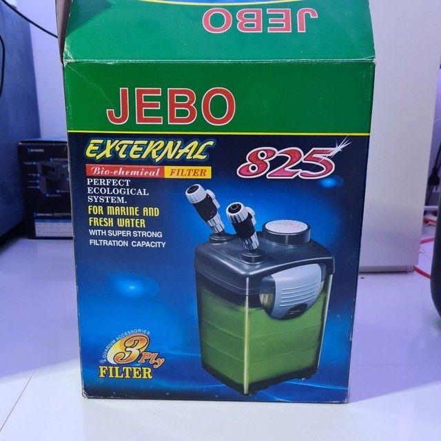 Filtro Canister JEBO 825 para aquário