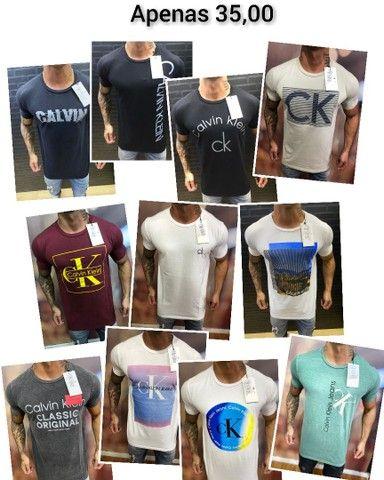 Camisetas Masculinas Nacionais Atacado - Foto 4