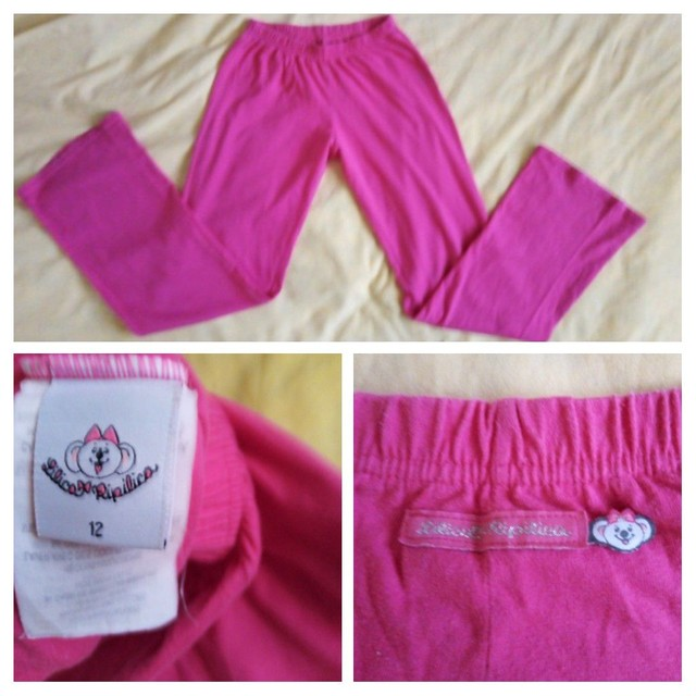 3 calças 12 anos usadas p/ menina (legging , jeans e malha) - Foto 6