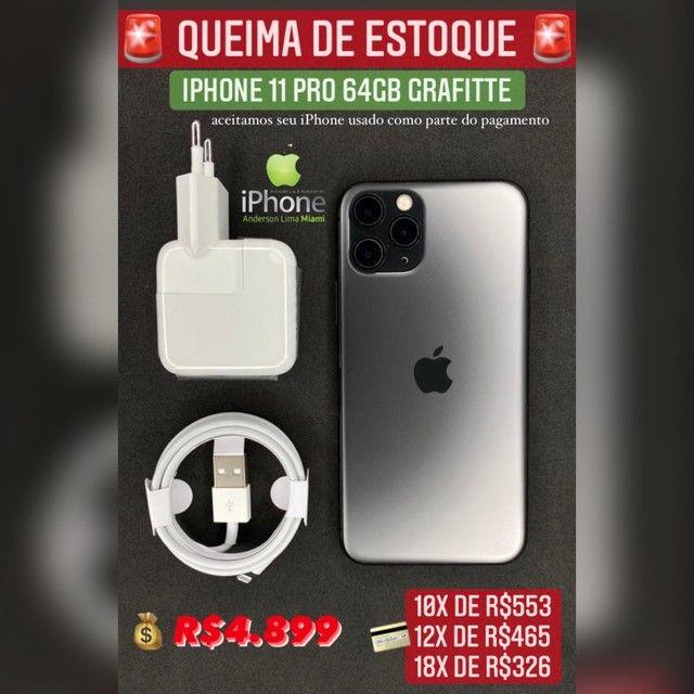iPhone 11 Pro 64GB grafite super oferta