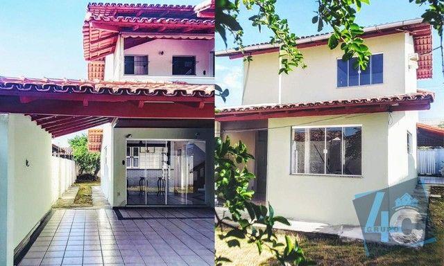 Casa com 3 dormitórios à venda por R$ 450.000 - Coroa Vermelha - Santa Cruz Cabrália/BA