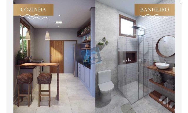 Casa Duplex com 3 dormitórios à venda, 145 m² por R$ 900.000 - Praia de Pitinga - Porto Se - Foto 17