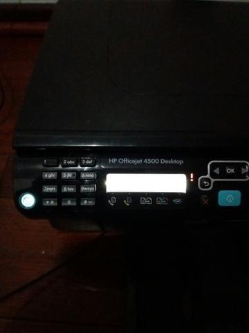 Impressora Multifuncional HP OfficeJet 4500 Jato de Tinta