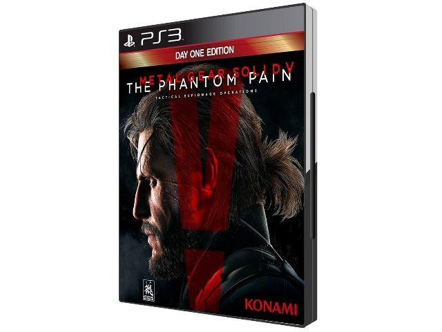 Metal Gear Solid V The Phantom Pain - para Playstation 3 - Lacrado