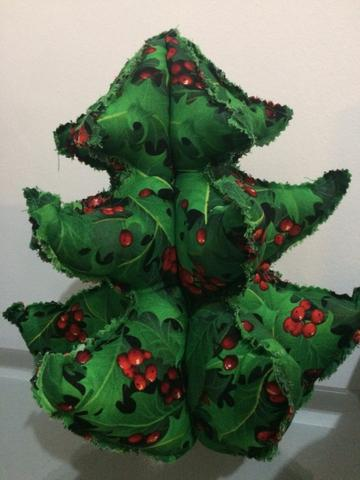 Árvore de natal feita à mão! Patchwork