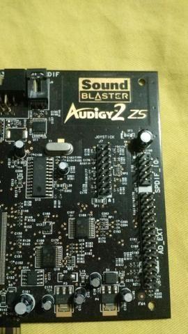 Placa de Audio 7.1 Audigy 2ZS