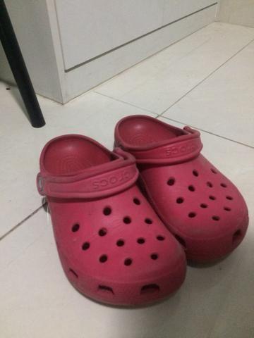 Crocs feminina 35/36