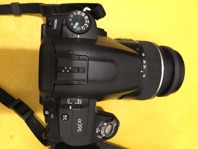 Câmera fotográfica Alpha 390 + Objetiva - Foto 2