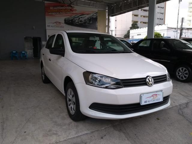 Volkswagen 2015/2015 Voyage 1.6 Flex trendline branco completo