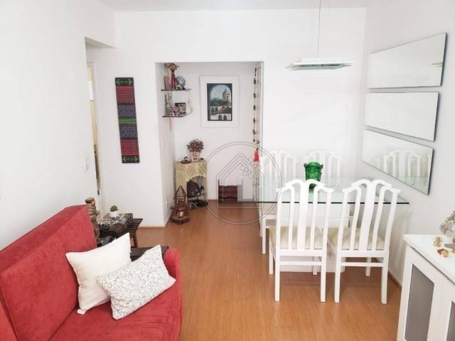 Apartamento com 2 dormitórios à venda, 60 m² por r$ 595.000,00 - tijuca - rio de janeiro/r