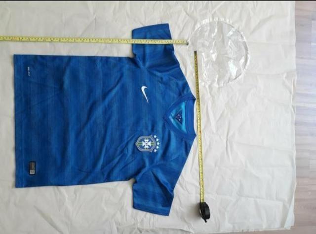 Camisa seleção brasileira - infantil original nova - com brinde ... a759613b86807