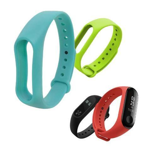 9c019846f8f Pulseira Lisa Para Relógio Inteligente Mi Band 2 Xiaomi Smartwatch ...