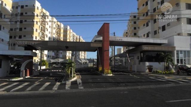 Apto Zona Sul - Frente Pq. Ecológico c/02 dormitórios para alugar, 47 m² por R$ 650/mês -
