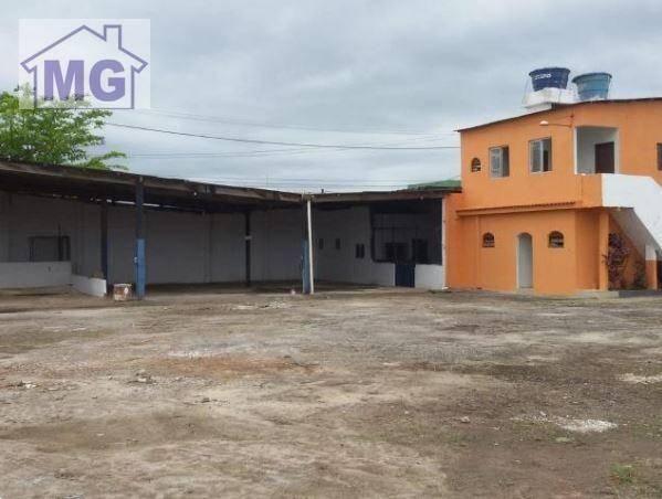 Galpão para alugar, 366 m² por r$ 12.000/mês - botafogo - macaé/rj - Foto 3
