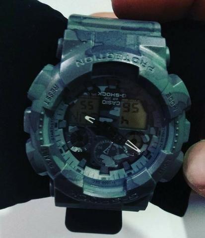 zapatillas de deporte para baratas salida para la venta verdadero negocio Relógio Casio G-Shock Militar 1° linha (entrega grátis)