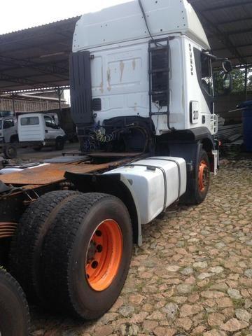 Iveco 740S46T 2011 6x4 automática Teto Alto - Foto 9