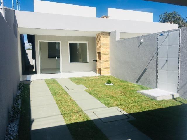 Linda casa com documentação grátis 2 quartos e 2 suites,entrada em 12x , *