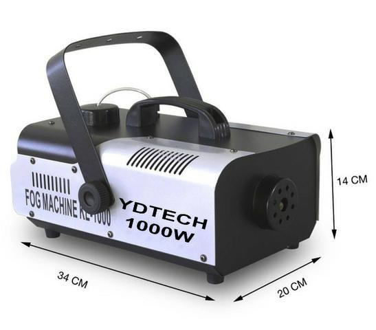 Super Maquina Fumaça 1000w 110v Dj Compativel Mesa Dmx Dj Ydtech-SKU: 80145 - Foto 6