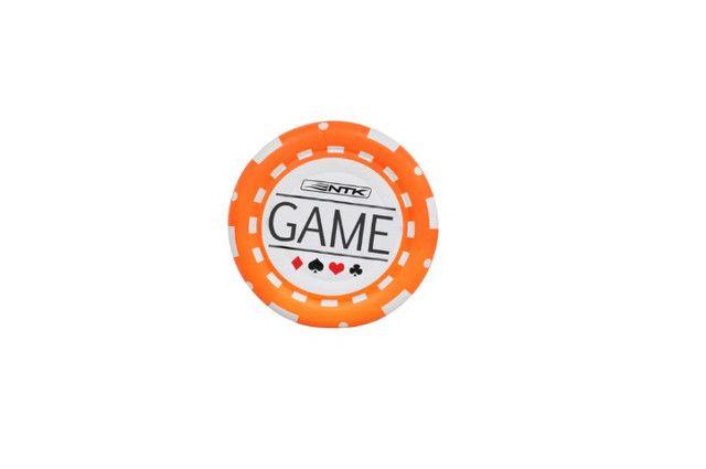 Boia Inflável nautika Casal Poker Chip 1,70m Diâmetro Namoradeira poker chip - Foto 3