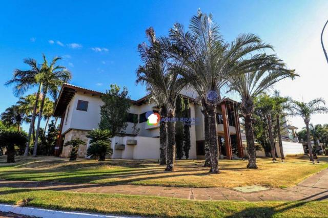 Sobrado com 4 dormitórios à venda, 638 m² por R$ 3.199.000,00 - Residencial Granville - Go - Foto 4