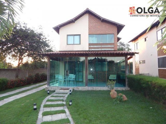Casa em condomínio com 5 dormitórios à venda, 190 m² por R$ 480.000 - Santana - Gravatá/PE