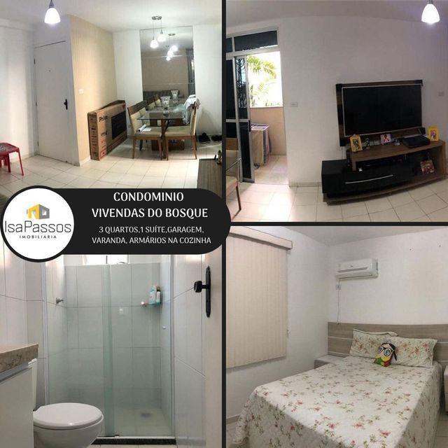 ATENÇÃO!!! VENDO Apartamento no CONDOMÍNIO VIVENDAS DO BOSQUE,