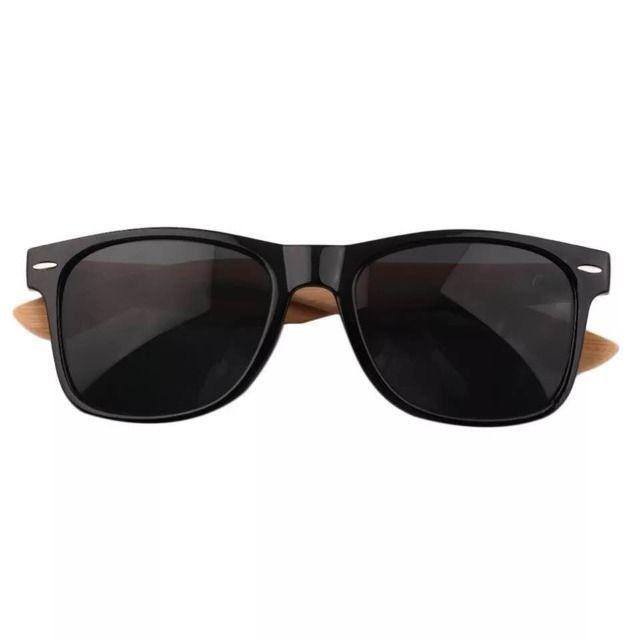 Óculos De Sol Wayfarer LK De Madeira / Bambu - Proteção Uv400 - Foto 2