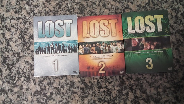 Box DVDs Lost 3 temporadas completas