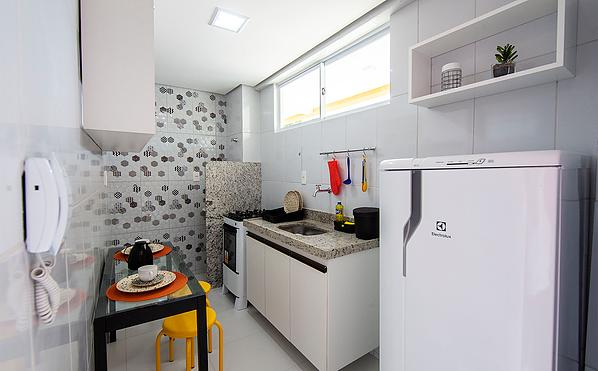 Apartamento novo de 1 ou 2 quartos ideal para estudantes da Uninovafapi - Foto 17