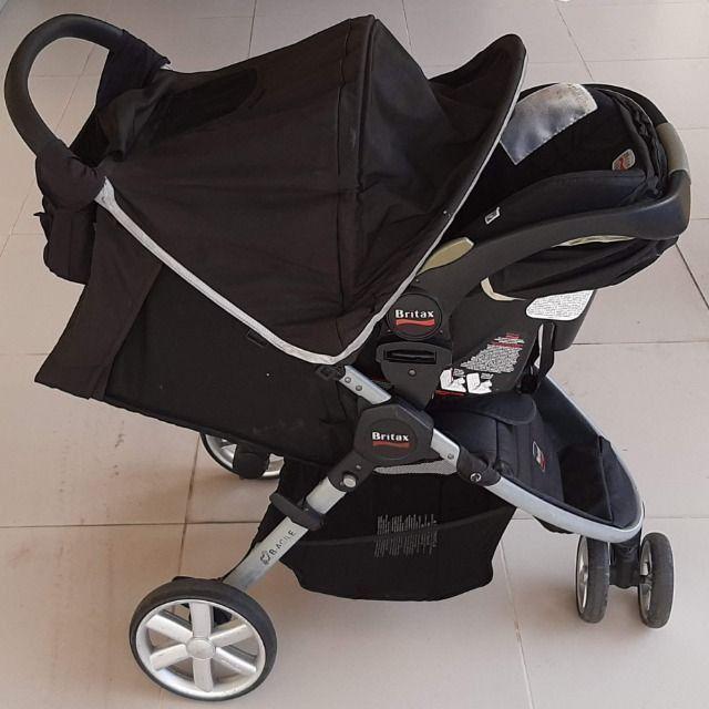 Carrinho + Bebê Conforto Importados